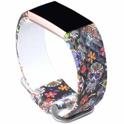 Allbingo 3D Cute Bands Compatible Fitbit Charge 3 & Charge 3 Se Women Men  Floral Replacement Strap Accessories Wristband Small L   R540 00   Handheld