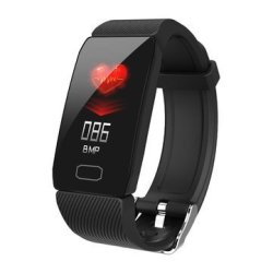 Bakeey Activity Record Heart Rate Sleep Monitor Sports Mode Phone Call Reminder USB Char