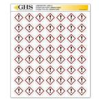 "Incom Manufacturing Ghs hazcom 2012: Hazard Class Pictogram Label Gas Cylinder 1"" Each Pack Of 1120"