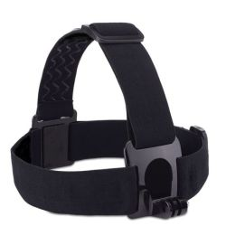 Multifunctional Head Strap For Gopro Motion Sports Camera - Black