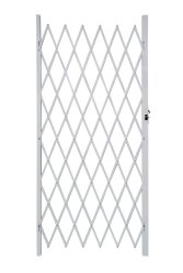 Armourdoor Alu Flex Security Gate 1M X 2M - White
