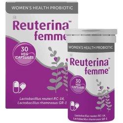 Reuterina Femme Women's Health Probiotic 30 Capsules