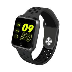 Fitness Activity Tracker Watch - Black