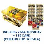 Fifa 2018-19 Panini Adrenalyn 365 Cards - Mega Tin - 9 Sealed Packs 54 Cards + Limited Edition Card Ronaldo Or Dybala