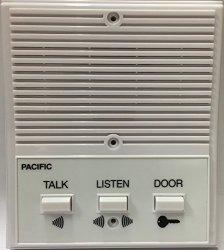 PACIFIC ELECTRONICS 3404 Single Entrance Intercom System 4 Wire 1 EA