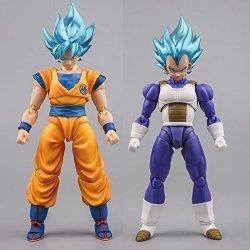 Demoniaca Fit Wstxbd Suit For Shf Blue Goku Vegeta Accessories Action Figure Collection Model Dolls Figurals