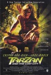 MG Poster Tarzan And The Lost City Movie Poster 27 X 40 Inches - 69CM X 102CM 1998 - Casper Van Dien Jane March Steven Waddington Winston Ntshona Rapulana Seiphemo Ian Roberts
