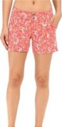 Women& 39 S Saturday Trail Hiking Shorts Bright Geranium
