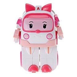 Robocar Poli Ouaps - 83172 - Jouet De Premier Age - Robocar V Hicule Transformable - Ambre