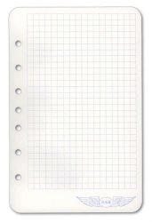 Aviation Supplies & Academics, Inc. Asa's 7 Ring Notepad Jeppesen Binders