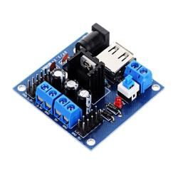 Ldtr - B00011 Voltage Regulator Module 3.3 - 5V Multiple Input Dc Power Supply For Arduino - Blue