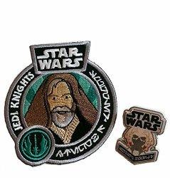 Funko Star Wars Jedi Exclusive Luke Skywalker Patch & Plo Kloon Pin
