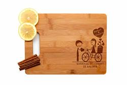 Krezy Case Wooden Engraved Cutting Board Home D Cor Best Wedding Gifts For The Couple