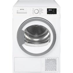 Smeg 60CM 8KG White Freestanding Heat Pump Tumble Dryer - DHTW81ESA