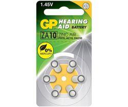 GP Batteries Gp ZA10 Hearing Aid Zinc Air - 1.4V