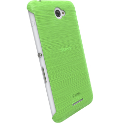 Krusell Boden Cover For Sony Xperia E4 e4 Dual - Transparent Green