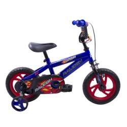 """Raleigh 12"""" Dash Boys Blue And Red Bmx"""