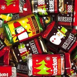 Hershey Bulk Christmas Chocolates - 's Miniatures Christmas Assortment - Bars Mr. Goodbars 's Special Dark And Krackel - 5 Lb