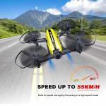 MANZOKU MINI Drone Racing Drone Quadcopter 720P Wide Angle HD Camera Live Video Headless Mode One Key Return 3D Flips 2.4GHZ 6 A