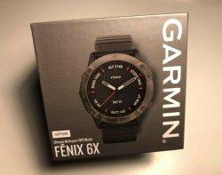 Fenix Garmin 6X - Sapphire Edition - Carbon Gray Dlc black Ultimate Gps Watch