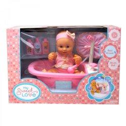 MY SWEET LOVE 34CM Bathtub Baby Set