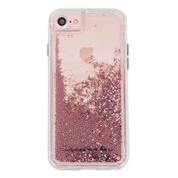 san francisco e26ac b36d4 Case-Mate Iphone 8 Plus Case - Waterfall - Cascading Liquid Glitter -  Protective Design For Apple Iphone 8 Plus - Rose Gold | R | Cellphone ...