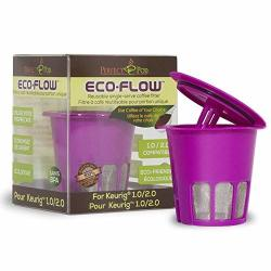 Perfect Pod Eco-flow 2.0 Reusable K-cup Coffee Pod Filter Compatible With Keurig And Select Single Cup Coffee Makers