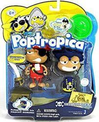Poptropica 3 Inch MINI Figure Toy 2PACK Skull N Duggery