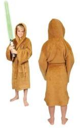 Star Wars Jedi Fleece Robe Tan - Kids Small