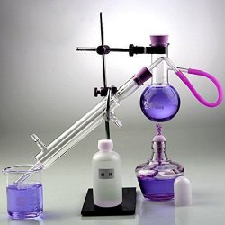 New Distillation Device Set Pure Hydrosol water home Distiller Essential Oil Extraction Chemical Experiment Equipment 100ML
