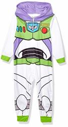 Pixar Boys' Big Toy Story Uniform Hooded Blanket Sleeper Buzz Lightyear 10