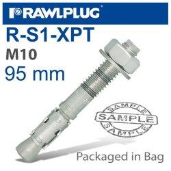 RawlPlug Throughbolt M10X95X25MM 4 -bag