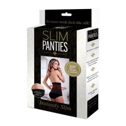 ASN - Slim Panties Black Extra Large