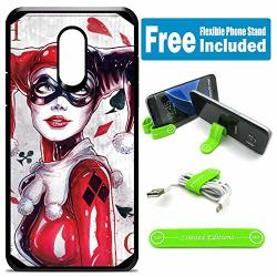 Limited Editions For LG Stylo 3 Stylo 3 Plus LS777 Defender Rugged Hard Cover Case - Harley Quinn P Card