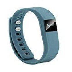 Etbotu DIZA100 DW64 Wireless Activity And Sleep Pedometer Smart Fitness Tracker Wristband - Gray