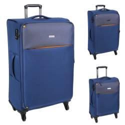 CELLINI Fresca 3 Piece Luggage Set Blue