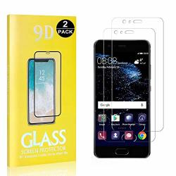 2 Pack Huawei P10 Plus Screen Protector Unextati 9H Tempered Shatterproof Glass Screen Protector For Huawei P10 Plus Anti-shatte