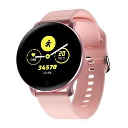 X9 1.3 Inch Ips Color Screen Smart Watch IP67 Waterproof Support Call Reminder heart Rate Monitoring blood Pressure Monitoring sedentary Reminder blood Oxygen Monitoring Rose Gold