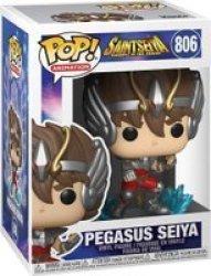 Pop Animation: Saints Seiya: Knights Of The Zodiac - Pegasus Seiya Vinyl Figure