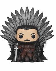 Funko Pop Deluxe: Game Of Thrones - Jon Snow Sitting On Iron Throne