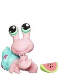 Hasbro Littlest Pet Shop Get The Pets Single Figure Hermit Crab