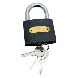 FORT KNOX - Padlock Iron Q.1 60MM