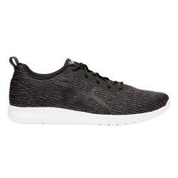 Asics Kanmei 2 Running Shoes in Black & White