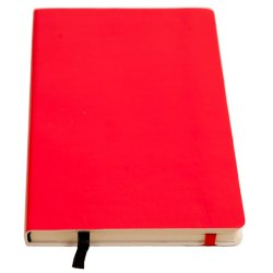 No Brand - Soft Cover Notebook Neon Red