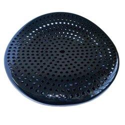 Ahmeds Textiles Bar Stool - Honeycomb - Black