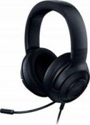Razer Kraken X Multi-platform Wired Over-ear Gaming Headphones Classic Black