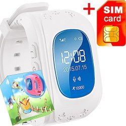 GBD Gps Tracker Smart Watch For Kids With Sim Card Smartwatch Phone Anti-lost Finder Sos Gprs Childr