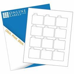 2.125 X 2.125 Waterproof Lip Balm Labels - Inkjet Printer Only - Pack Of 1 200 Labels 100 Sheets - Online Labels