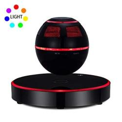 Levitating Speaker Esotica Floating Speaker With Bluetooth 4.1 360 Degree Rotation Touch Control Button And Colorful LED Flashin