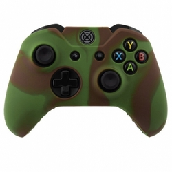 XBOX One Wireless Controller Multi Color Silicon Case Green Brown
